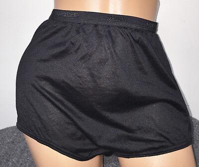 New Dicountinued Jockey Black Sheer Cotton Blend Logo Waist Panties Briefs 7