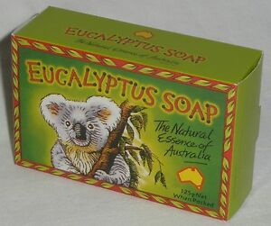 3 x 125g EUCALYPTUS SOAP Bar - AUSTRALIAN MADE  oil, skin, gum aroma hand bath