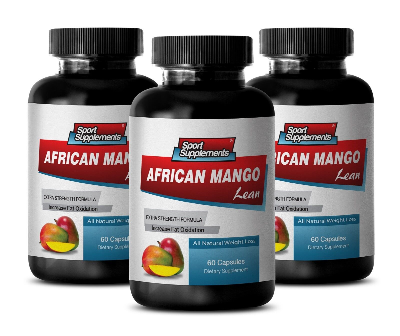 Increased Energy Capsules - African Mango Complex 1200mg ...
