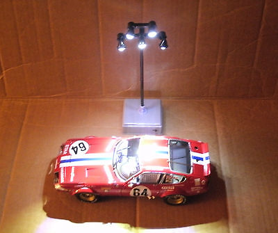 1/18 - 1/25 Scale Parking Lot LED Light Tower Post Model Accessory - Lemax 64119