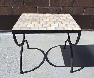 Rot Iron patio table