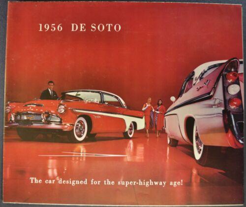 1956 DeSoto Brochure Fireflite Sportsman Firedome Wagon Excellent Original 56