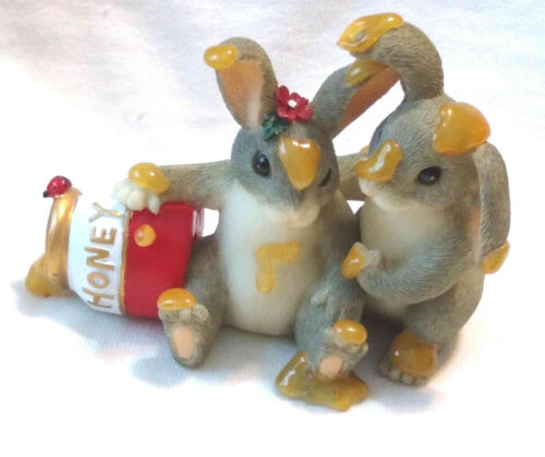 "Charming Tails ""Honey Bunnies"" (Rabbit) [Retired]"