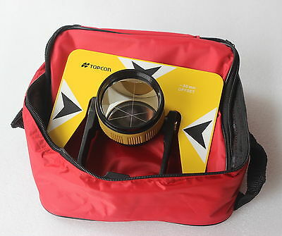 Yellow Topcon Metal Prism Wbag For Topcon Pentax Nikon Total Station Surveying