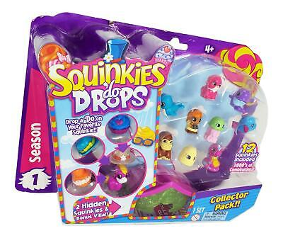 Squinkies 'Do Drops RARE Season 1 Collector Pack with Glitter Hat & Cupcake RARE