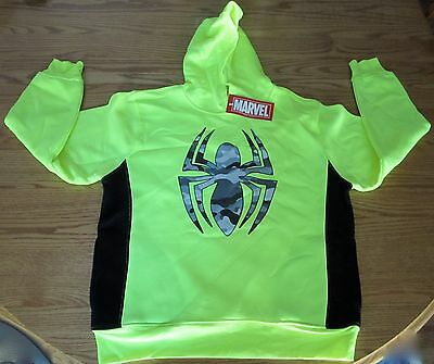 The Amazing Spider-Man Kinder Kapuzenpulli Marvel Comics Brandneu Mad Engine Sz