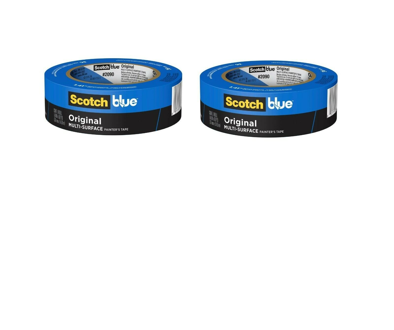 ScotchBlue Painter's Tape lot of pack Multi-Use .94-Inch by