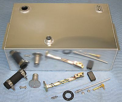 67-72 C10 Chevy Pickup Truck 18 Gallon Aluminum Fuel Gas Tank Complete Kit