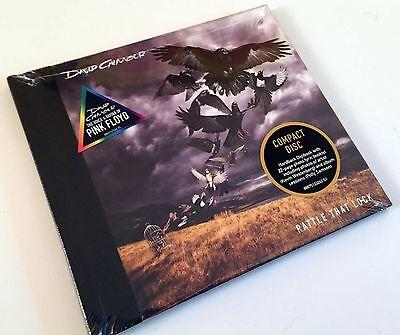 David Gilmour Rattle That Lock Hardback Digibook CD w/Booklet 2015 NEW SEALED