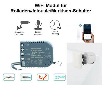 Wifi Módulo para Persiana Venecianas Interruptor Smart Home Voz Obturador