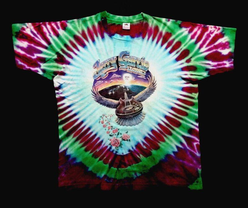 Grateful Dead Shirt T Shirt Vintage 1991 Jerry Garcia Band Tour Tie
