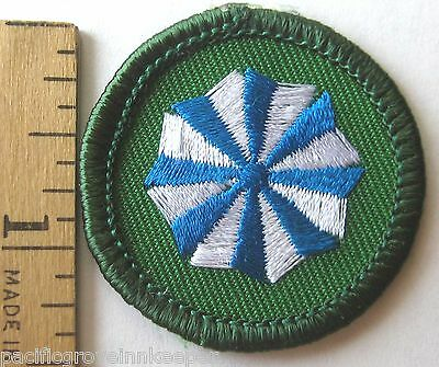 Girl Scout 2001 2011 Junior Model Citizen Badge Active 8 Point Star Patch New