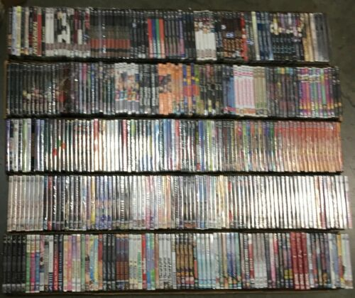 Wholesale Lot of 30 Assorted Bulk New Japanese Anime DVD Grab Bag No Duplicates