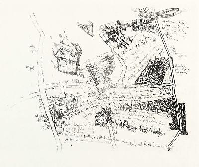 CARLFRIEDRICH CLAUS - RANDBEMERKUNG SVENDBORGER GESPRÄCHE - Lithografie 1968