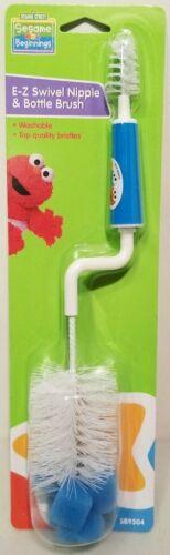 Sesame Beginnings E-Z Swivel Nipple & Bottle Blue Brush Cleaner