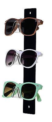3 Tier Acrylic Sunglasses Eyeglasses Display Rack With Black Back Glasses