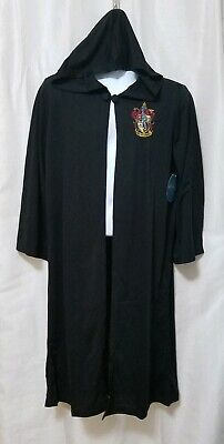 Boys Wizard Costume (Harry Potter Hogwarts House Crest Magic Wizard Cloak Costume Robe -)