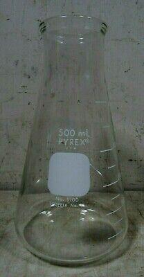 Vintage Pyrex 500 Ml 5100 Erlenmeyer Lab Flask Glass