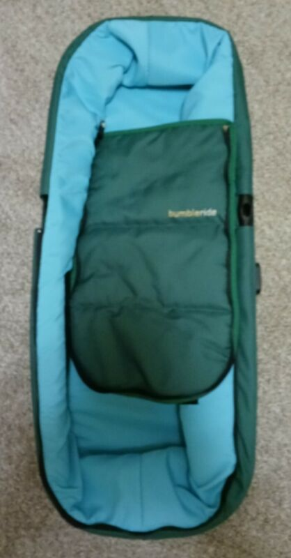 Bumbleride Indie Twin 2017 Carrycot Papyrus Green NO CANOPY READ DESCRIPTION