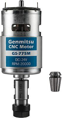 Sainsmart Genmitsu Gs-775m 20000rpm 775 Cnc Spindle Motor With Er11 Collet Set