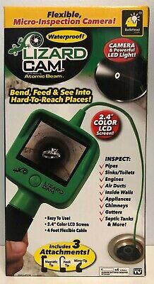 "New Lizard Cam ""As seen on TV"" Micro inspection Camera,Waterproof Loc B7"
