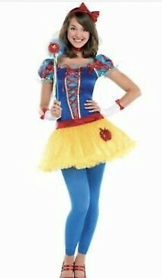 Disney Junior Halloween (NEW HALLOWEEN DISNEY COSTUME SNOW WHITE PRINCESS JUNIOR M)