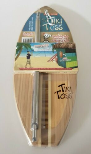 Tiki Toss ⭐ Original Hook and Ring Game 100% Bamboo - Deluxe Edition ⭐NEW⭐