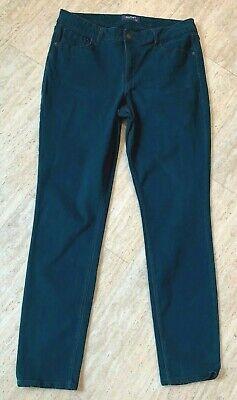 Rockstar Leggings (Old Navy ROCKSTAR sz. 12 Dark Teal Slim Leg Jeans MId-Rise)