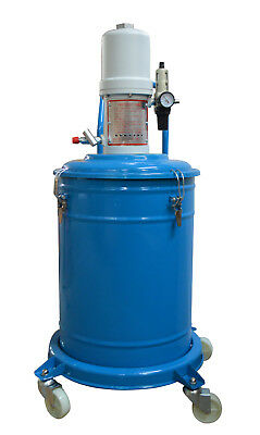10 Gallon Grease Pump Lubricator Air Pneumatic Compressed Gun High Pressure