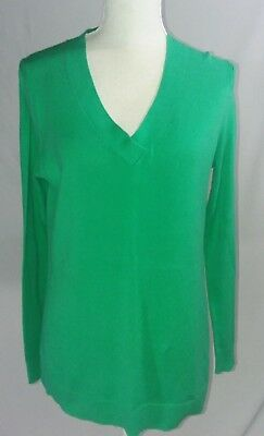 GAP WOMEN'S CAREER SWEATER V NECK LONG SLEEVE EXCELLENT CONDITION SIZE SMALL