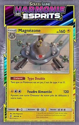 60//236 SL11:Harmonie Des Esprits Magnézone Holo Carte Pokemon Neuve FR