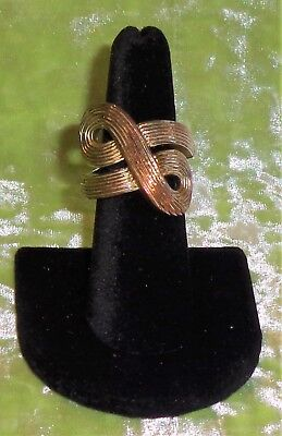 STRETCH RING BRONZE COLOR