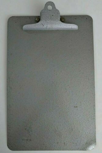 Metal Storage Clipboard Document Paper Holder