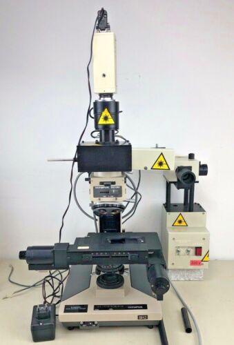 Olympus BH2-UMA Laser-adapted microscope (orig. for Raman Spectrometer)