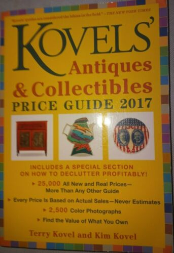 Kovels antiques and collectibles price guide 2017 catalog