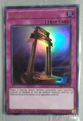 YuGiOh - Tragedy - Ultra Rare Promo NM -SEALED- Lost Art -