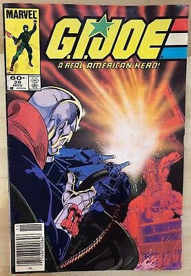 G.I. JOE #29 (1984) Marvel Comics VG+