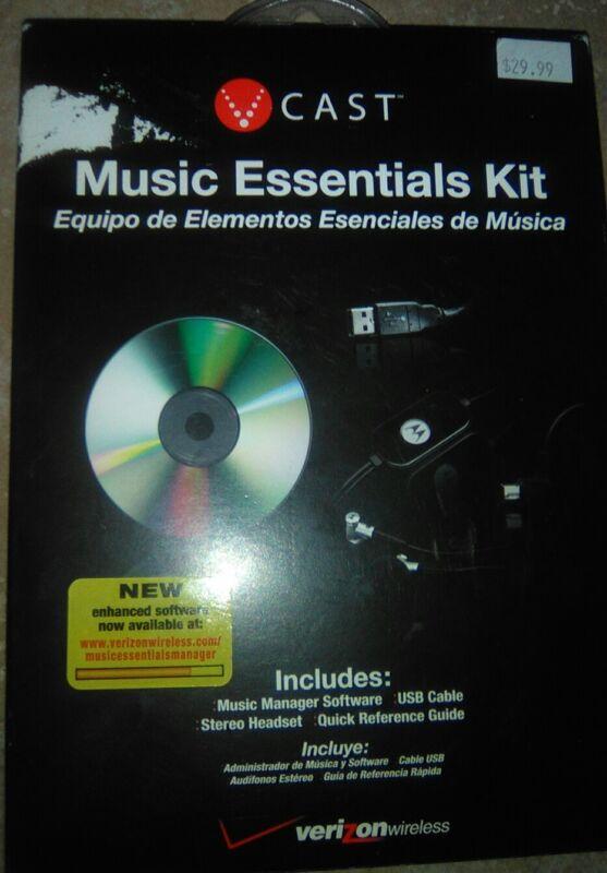V Cast Verizon Wireless Music Essentials Kit-FREE SHIPPING!!