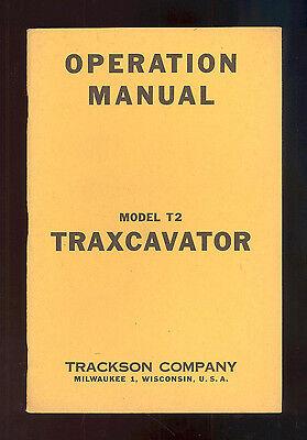Caterpillar T2 Traxcavator Bulldozer Operation Manual