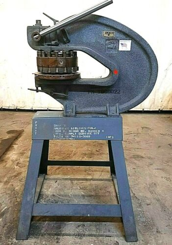 ROTEX PUNCH 18A 2.0 MODEL, USED FOR METALS AND PLASTICS, 18 ST TUR, 8 TON CAP