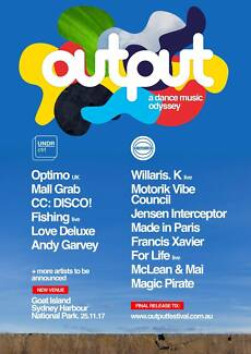 Output Festival - Ticket for Sale