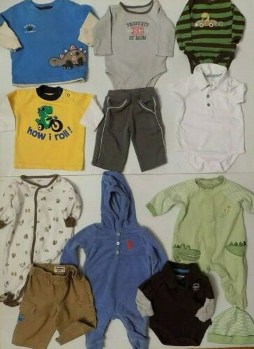 Lot Of 12 Pieces Baby Boy