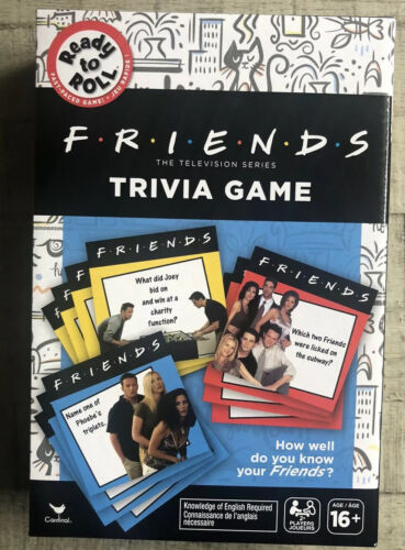 Friends Trivia Card Game Cardinal 2019 New !