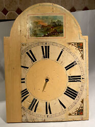 Early Antique Black Forest Wall Clock