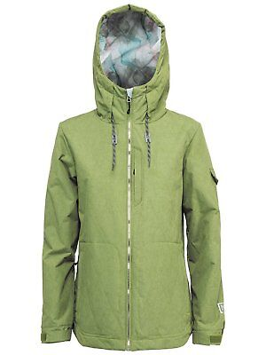 NEW Nitro Pamir 10K Nori Green Womens Medium Ski Snowboard Jacket Coat Msrp$250