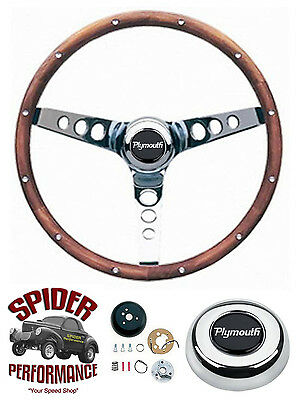 70-76 Duster Valiant Fury steering wheel 13 1/2
