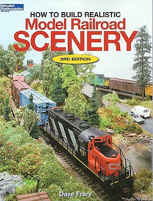 Kalmbach How To - KALMBACH HOW TO BUILD REALISTIC MODEL RAILROAD SCENERY track design layout 12216