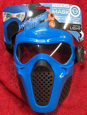 Blue Rival Face Tactical Mask Dart Gun kids Toy Outdoor Game For Nerf