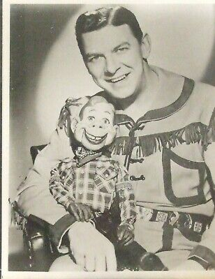 Say kids! What time is it?!  IT'S HOWDY DOODY TIME Photo of Bob & Howdy