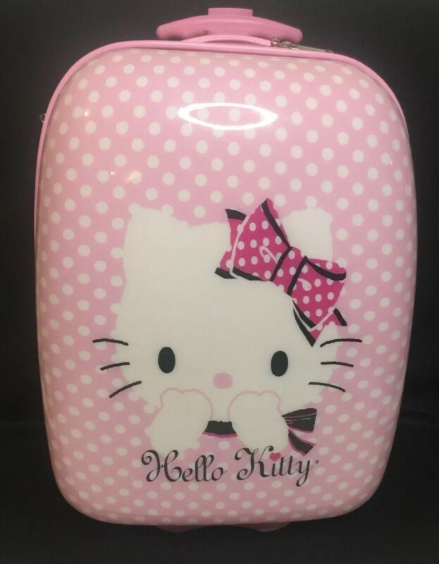 Hello Kitty Childs Rolling Suit Case